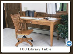 100 Library Table