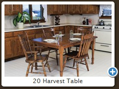 20 Harvest Table