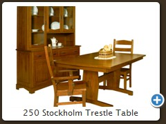 250 Stockholm Trestle Table