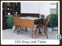 300 Drop Leaf Table