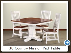 30 Country Mission Ped Table