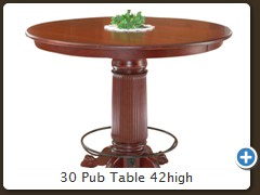 30 Pub Table 42high