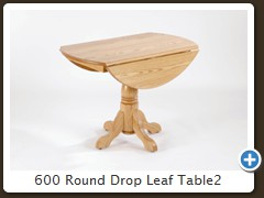 600 Round Drop Leaf Table2