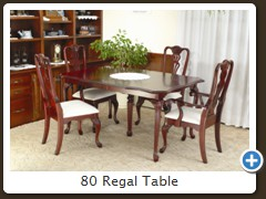 80 Regal Table