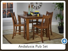 Andalusia Pub Set