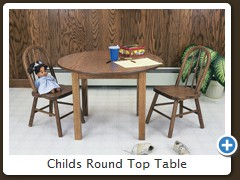 Childs Round Top Table