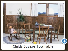 Childs Square Top Table